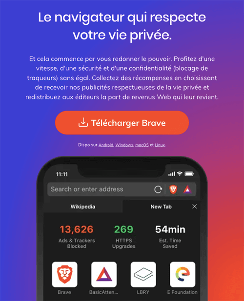 Télécharger Brave Browser